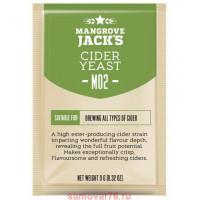 Дрожжи Mangrove Jack's Cider M02, 10 гр.