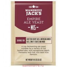 Дрожжи Mangrove Jack's Empire Ale M15, 10 гр.