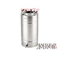 Бак нержавейка 29 литров, Добровар (без крышки)