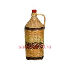 Бутылка оплетенная 2 литра Виноград