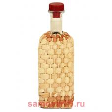 Бутылка оплетенная 0,5 литра Хуторок