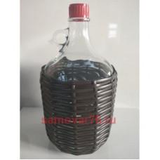 Бутылка оплетенная 5 литров Сулия